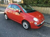2014 FIAT 500 LOUNGE WITH VERY LOW 28K MILLAGE HPI CLEAR