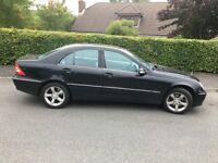 Black Mercedes (2005) C230K Avantgarde SE Auto (Petrol, 58K miles)