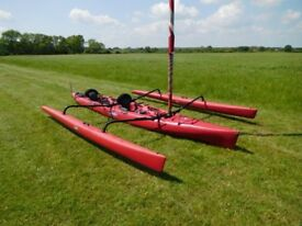 Hobie Tandem Mirage with 2-stage Trailer