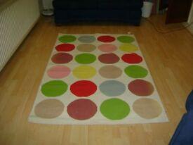 Habitat Limited Edition, Damien Hirst Inspiried, Colour Dot Rug.