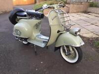 1957 Vespa Faro Basso Scooter - Completely Restored