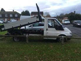 Transit tipper new shape body big ram 125000 miles