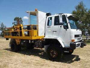 1992 Isuzu FTS700 4x4 Trayback/Cab Chassis Truck.Ex Govt,low kms. Inverell Inverell Area Preview
