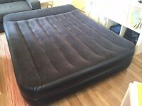 INTEX Inflatable King Size Air Bed. Electric pump