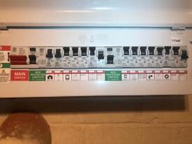 Electrician (Fully qualified and part P registered)