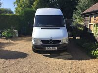 2004 Mercedes Sprinter 311cdi MWB for sale in Suffolk only 108,000 miles