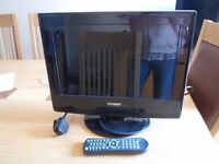 """Technika 15.4"""" HD Ready LCD TV/DVD with Freeview"""