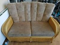 2 seater setter sofa and 2 x chairs