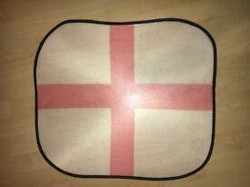 Large England Mesh Flag