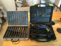 Xtreme corded power drill & drill bits