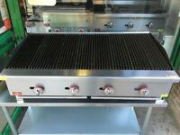 PERI PERI CATERING CHARCOAL WATER COMMERCIAL GRILL MACHINE DINER TAKEAWAY KITCHEN SHOP CAFE MEAT