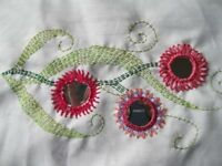 Learn to Sew on Shisha Mirrors at Forty Hall North London