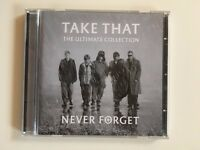 CD by 'Take That'. Album 'The Ultimate Collection: Never Forget'.