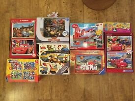 15 puzzles for kids aged 3+ in great condition