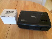 OPTOMA PROJECTOR HD600X-LV 3D ready + spare bulb brand new