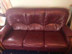 Gorgeous Leather sofa