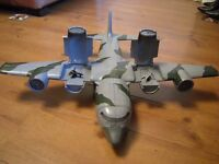 TOY AIRCRAFT CARRIER PLANE LARGE WITH SMALL PLANES