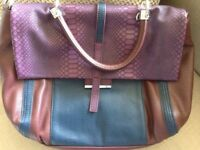 Women's new leather hand bag - Italian made