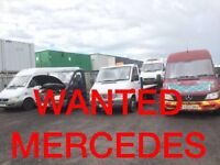MERCEDES SPRINTER ANY CONDITION a WANTED!!