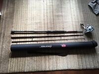 Penn Rampage sea fishing rod and reel