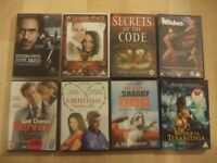 35 DVDs, used, but good condition, 3 still sealed, region 2, except one, mostly sci fi and action.