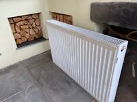 Free Double panel radiator 36in x 24in used