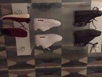 Adidas YZYS , Air max, and ugg boots