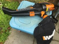 WORX all in one blower/vac/mulcher