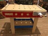 Kids Tildo Wooden Tool Bench Only