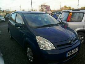 04 Toyota Verso 1.8 5 door blue clean car ( can be viewed inside anytime)