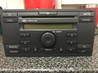 FORD 6000 CD HEAD UNIT WITH CODE IN GOOD WORKING CONDITION