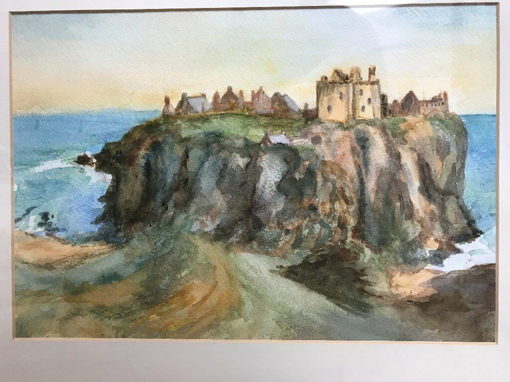 Picture/Painting - Dunnottar Castle original watercolour