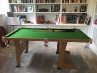 6FT Pool Table. Collection only.