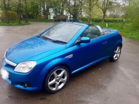 Vauxhall Tigra Exclusiv 1.8l Hardtop Convertible - FULL Year MOT & Low Mileage
