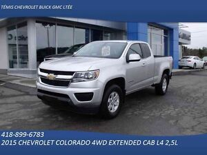 2015 CHEVROLET COLORADO 4WD EXTENDED CAB