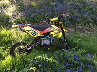 125 Welsh pit bike