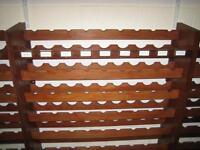 Wine Racks - Solid Wood