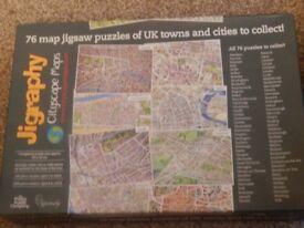 MAP OF MAPLETHORPE JIGSAW