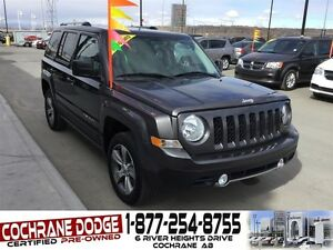 2016 Jeep Patriot High Altitude w/LEATHER AND SUNROOF!