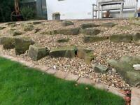 Garden rockery rocks Free