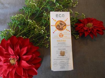 (24,40€/100ml) Eco Cosmetics Baby & Kinder Sonnencreme LSF 45 50 ml