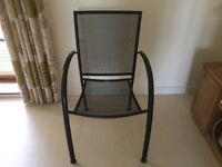 NEW Kettler Grey Metal Chairs