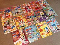 Sonic the Comic issues 2-15 (Fleetway STC UK, job lot)