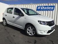 Dacia Sandero 1.5 dCi Ambiance 5dr (glaier white) 2015