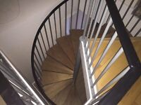 Spiral Staircase - 13 steps. Ready to assemble (two)