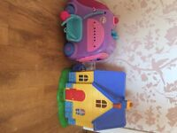 Doc Mcstuffins House and Mobile Clinic