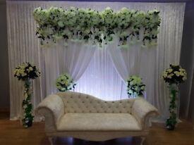 Asian Wedding,Floral &Mehndi stage Decor
