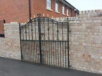 Wigan reclaimed gates / Galvanised/ Wrought Iron / doubles & singles cheapest around can deliver