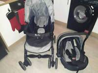 Silver Cross 3D travel system with car seat