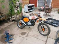 1972 ts 125 needs tank painting good runner Swop for full suspension bike no shit